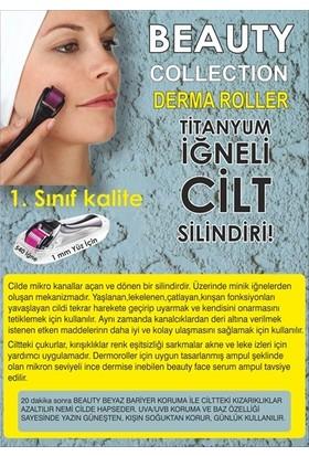Beauty Face Dermaroller 1.00 mm Titanium 540 Iğne
