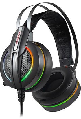 Rampage RM-K6 STARK USB 7.1 RGB Ledli Mikrofonlu Kulaklık