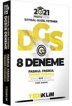 Yediiklim Yayınevi DGS 2021 Prestij Serisi Tamamı Çözümlü 8 Fasikül Deneme