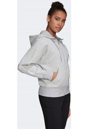adidas W 3s Dk Fz S Hd Sweatshirt