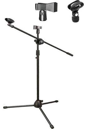 Chester Teleskobik Mikrofon Sehpası Standı