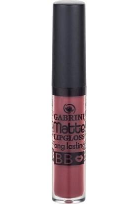 Gabrini Matte Lippgloss Long Lasting 23