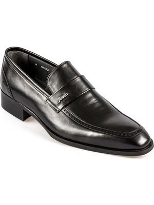 Fosco Bağcıksız Siyah Neolit Taban Erkek Klasik Ayakkabı 8532 114