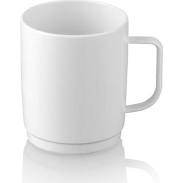 Plastport Kırılmaz Çay Kahve Kupası - Beyaz 250 ml - 6 Adet Fiyatı
