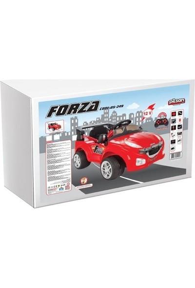 Pilsan Forza Uzaktan Kumandalı 12V Akülü Araba 05-249 - Kırmızı