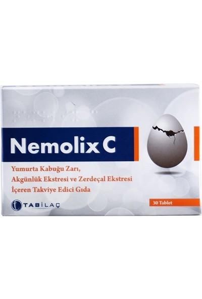 Nemolix C3 Yumurta Kabuğu Zarı - 30 Yumuşak Kapsül
