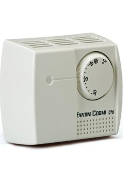 Fantini Cosmo C16 I 10-30°C On-Off Hassasiyet 1°C Termostat