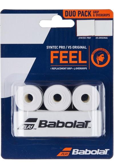 Babolat Syntec Pro Ana Grip+ 3'lü Vs Orıgınal Tenis Gribi