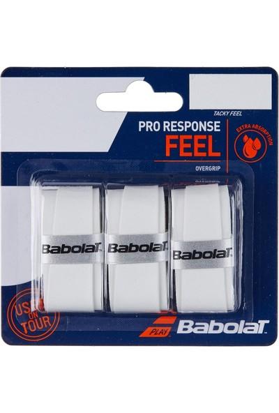 Babolat Pro Response 3'lü Tenis Gribi - Beyaz