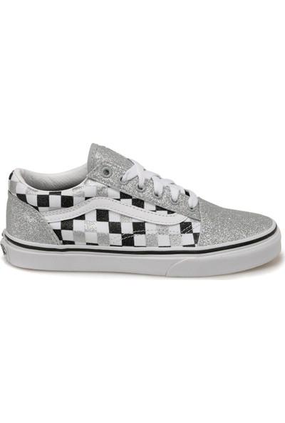 Vans Uy Old Skool Gümüş Kız Çocuk Sneaker Ayakkabı