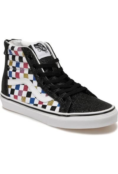 Vans Uy Sk8-Hı Zıp Siyah Kız Çocuk Sneaker Ayakkabı