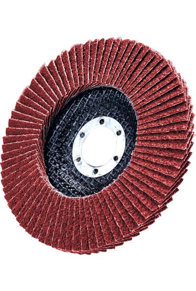 Üçer Zımpara Alüminyum Oksit Flap Disk Düz T27 - 115 x 22 - 60 Kum