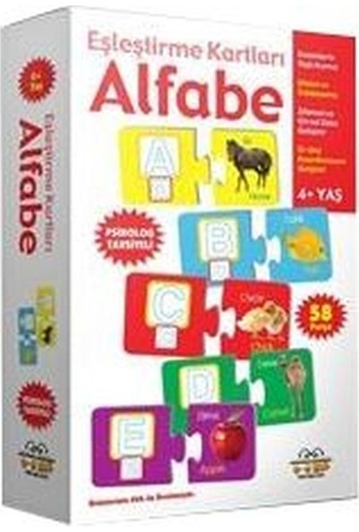 Alfabe - Eşleştirme Kartları -