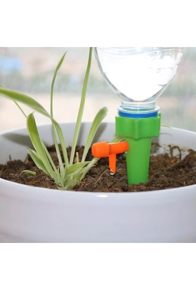 Kyrotech Damlama Sulama Aparatı Otomatik Çiçek Damla Sulama Başlığı 12'li