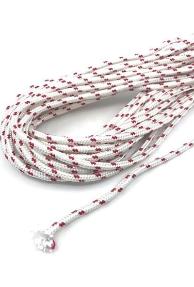 Çelik Iskota Halat Branda Tente Yük Bağlama Gerdirme Ipi Polyester-4 mm (10 m)