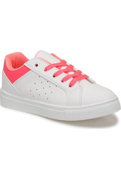 I Cool Neon Beyaz Kız Çocuk Sneaker Ayakkabı