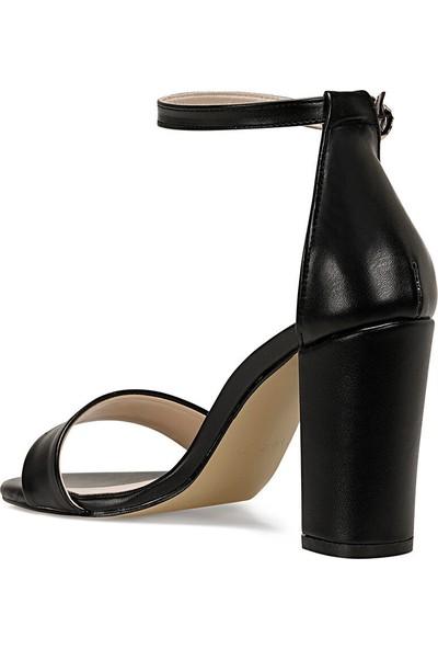 Nine West Calvı Siyah Kadın Sandalet