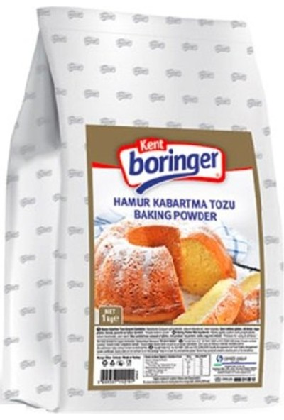 Kent Boringer Hamur Kabartma Tozu 1 kg