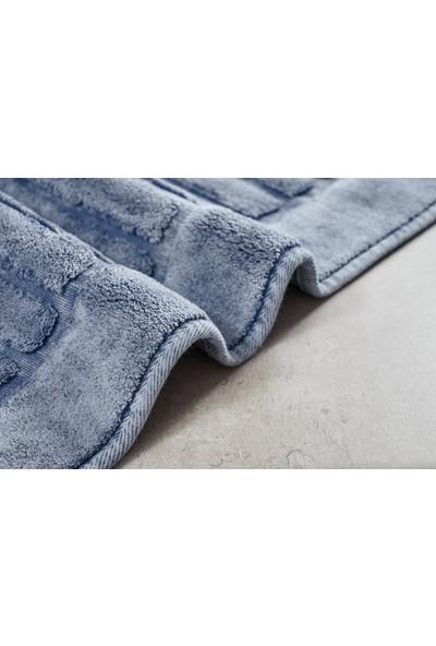 Alanur Mikonos Cotton 2'li Paspas Eskitme Mavi