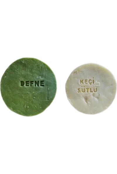 Pakel Defne Sabunu ve Keçi Sütlü Sabun Paketi