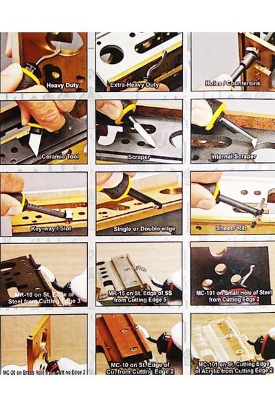 CP Grat-Ex 10 Parça Çapak Alma Raspa Seti, Promo Set 2