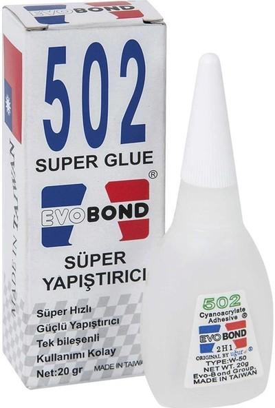 Evobond 502 Süper Yapıştırıcı - 10 Lu Paket