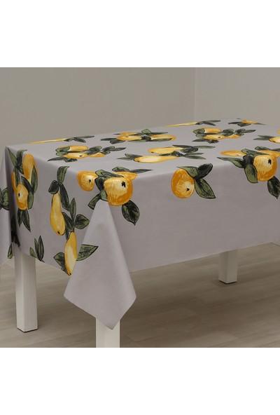 Eno Concept Armut Desenli Pamuk Kolay Temizlenebilir Leke Tutmaz Masa Örtüsü 140 x 190 cm