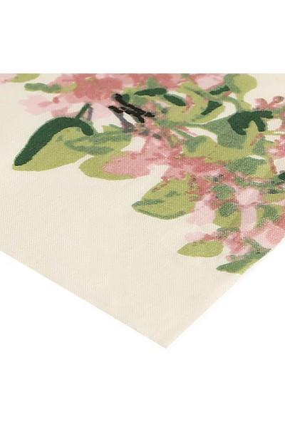 Eno Concept Renkli Ağaç Desenli Pamuk Kolay Temizlenebilir Leke Tutmaz Masa Örtüsü 140 x 200 cm