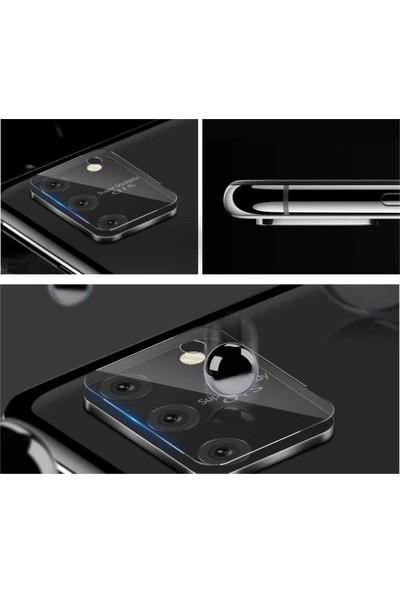 KNY Samsung Galaxy Note 10 Lite A81 Kamera Koruma Cam Ekran Koruyucu Şeffaf