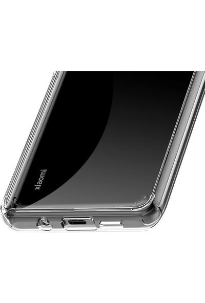Vendas Xiaomi Mi Note 10 Lite Air Craft Serisi Sert Silikon Kılıf Şeffaf