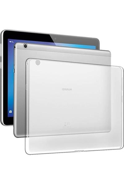 "Esepetim Huawei MediaPad T5 Silikon Şeffaf Tablet Kılıfı 10.1"""
