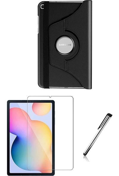 """Esepetim Samsung Galaxy Tab S6 Lite SM-P610 Dönerli 10.4"""" Tablet Kılıfı Seti Ekran Koruyucu ve Tablet Kalemi"""