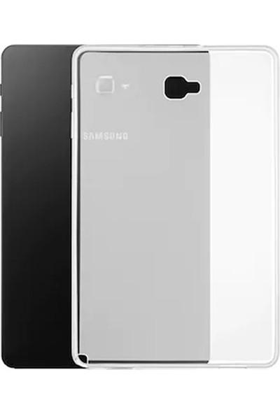 """Esepetim Samsung Galaxy Tab A SM-P580 Silikon Şeffaf Tablet Kılıfı (10.1"""")"""