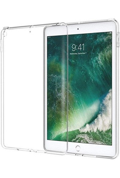 Esepetim Apple iPad Mini 5 Silikon Şeffaf Tablet Kılıfı A2133, A2124, A2126, A2125