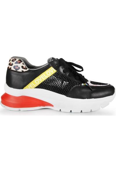 Gökhan Talay Siyah Kadın Sneaker