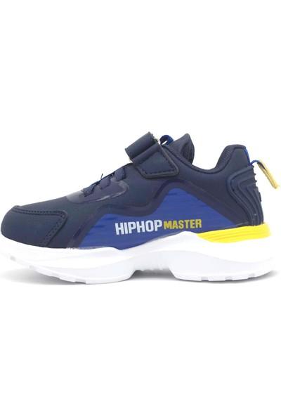 Jump Lacivert Saks Mavi Erkek Çocuk Ayakkabı 25780