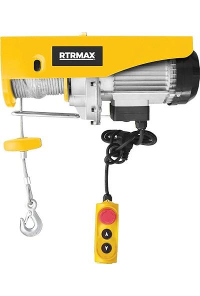 Rtrmax RTM490 Bakır Sargılı Elektrikli Vinç 1900W - 600/1200 kg