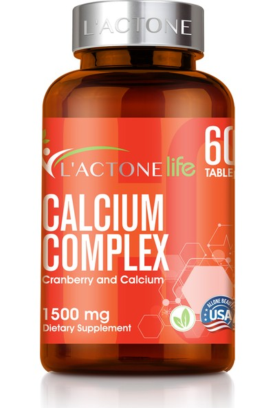 L'actone Calcium Complex 1500 mg / 60 Tablet