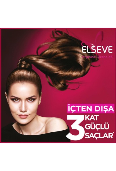 L'Oréal Paris Elseve Arginine Direnç X3 Dökülme Karşıtı Şampuan 2'si 1 Arada 450 ml