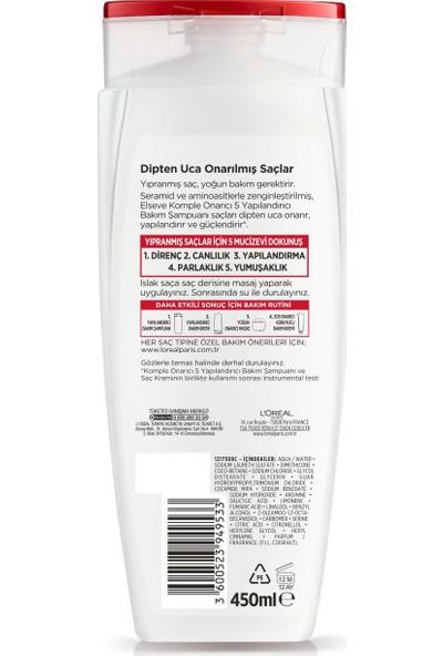 L'Oréal Paris Elseve Komple Onarıcı 5 Yapılandırıcı Bakım Şampuanı 450 ml