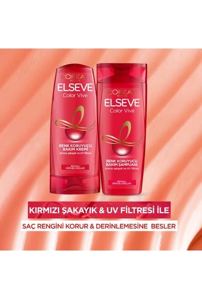 L'Oréal Paris Elseve Colorvive Renk Koruyucu Bakım Şampuanı 2'si 1 Arada 450 ml