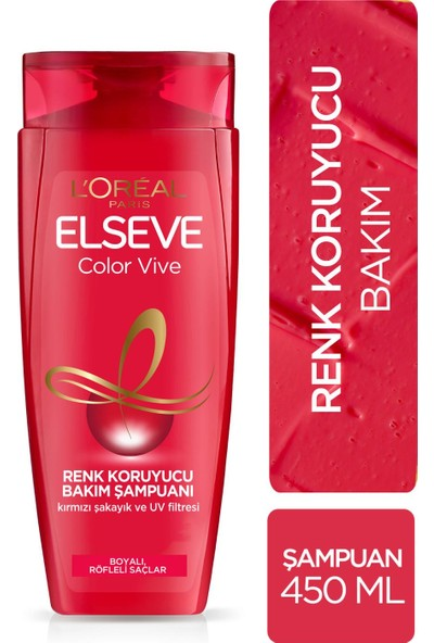 L'Oréal Paris Elseve Colorvive Renk Koruyucu Bakım Şampuanı 450 ml