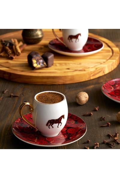 Karaca Aşkar 2 Kişilik Kahve Fincan Takımı