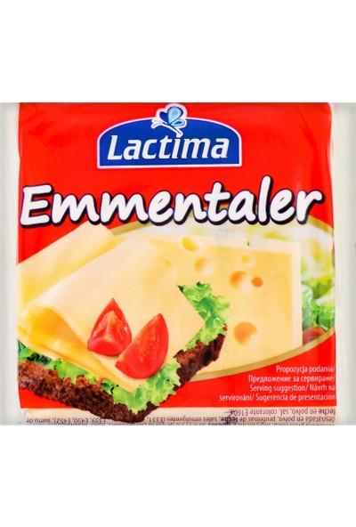 Lactima Dilimli Emmentaler Peynir Her Dilim Paketlenmiş 130 gr
