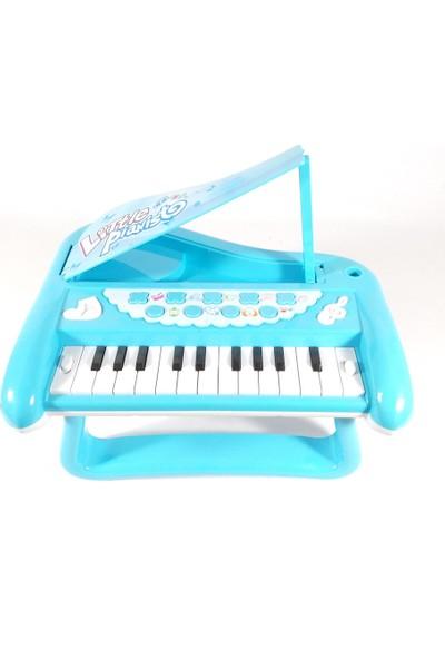 Vardem Oyuncak Işıklı Mini 3D Org Piyano - Mavi