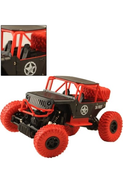 Beren 1:14 Rock Defender Off Road 2.4 ghz 4x4 U/k Buggy Jeep Rock Crawler