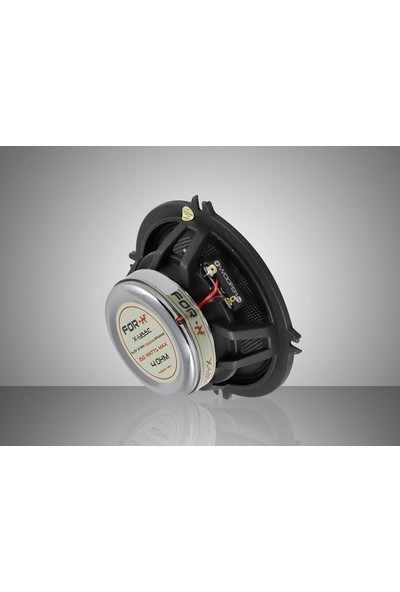 For-X X-1355C 13 cm Max Power 150W. Rms Power 50W. Coaxial Oto Hoparlör Yeni Seri