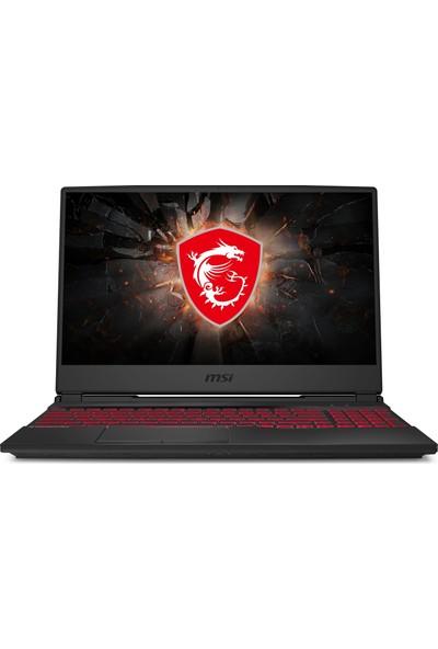 "MSI GL65 Leopard 10SCXR-061XTR Intel Core i5 10300H 8GB 256GB SSD GTX1650 Freedos 15.6"" FHD Taşınabilir Bilgisayar"
