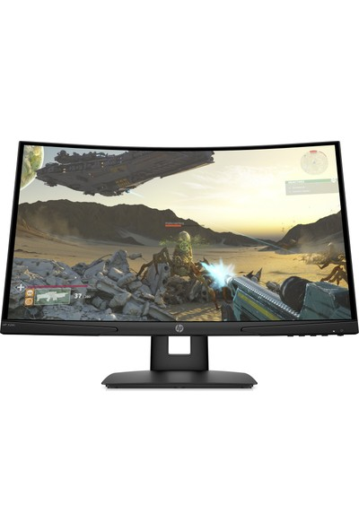 "HP X24c 23.6"" 144Hz 4ms (HDMI+DP) Full HD Curved FreeSYNC Oyuncu Monitör (9FM22AA)"