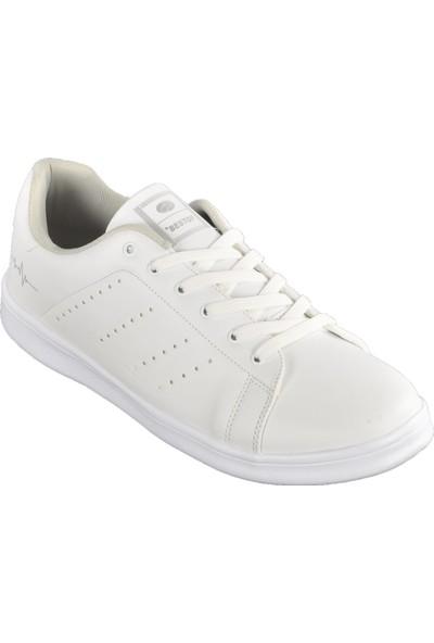 Bestof 041 Beyaz-Beyaz Erkek Spor Ayakkabı
